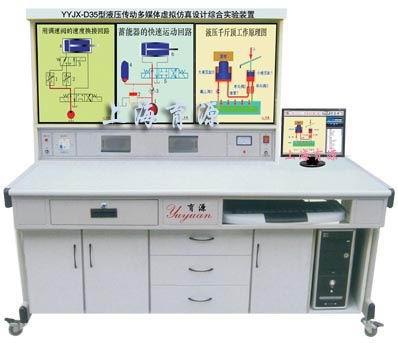 液压传动多媒体虚拟仿真综合实验装置