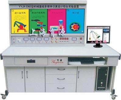 机械基础多媒体仿真设计综合实验装置