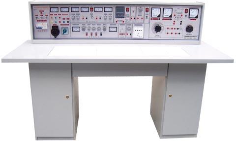 智能型电工电子电力拖动(带直流电机)学生实验台
