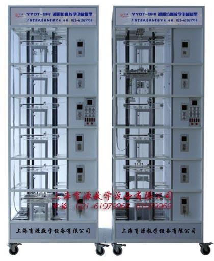 透明仿真教学电梯模型(六层站 双联)