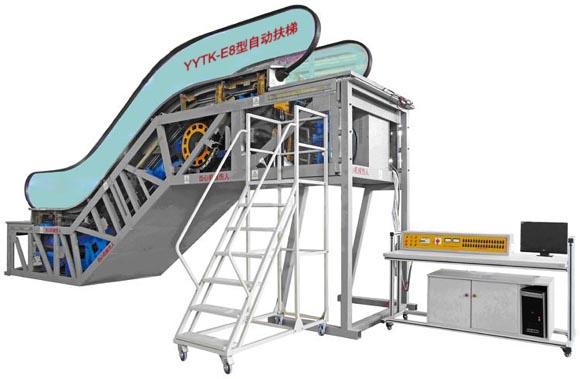 自动扶梯部件安装与调试fun88体育备用设备