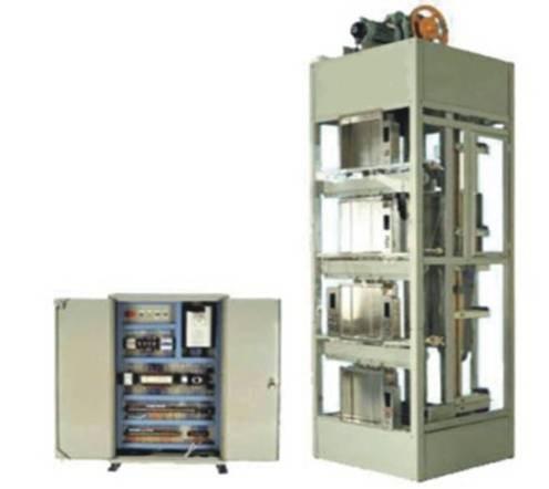 四层实物电梯fun88体育备用考核装置