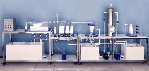 污水处理厂立体布置模型/废水生物处理实验装置