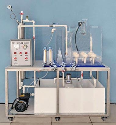 气浮溶气、过滤一体化实验装置