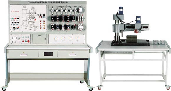 Z3040摇臂钻床电气技能bwin登录入口考核装置