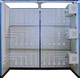 弱电井中垂直工作区系统fun88体育备用装置