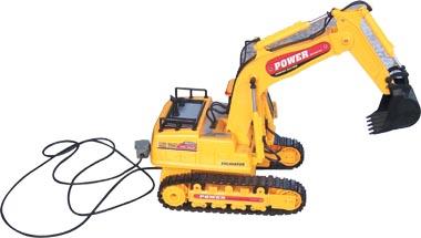 挖土机实物模型