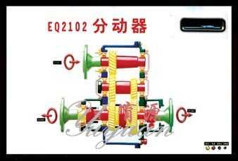 东风分动器电教板