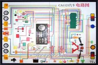 东风EQ1122汽车电教板(柴油)