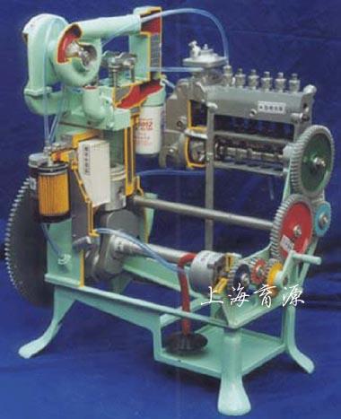 全铝制康明斯柴油发动机模型配装A型泵