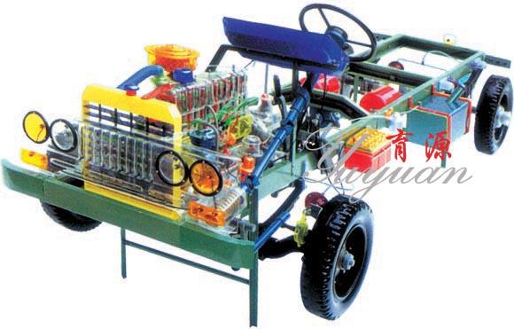 东风EQ1090(东风140)型透明整车模型