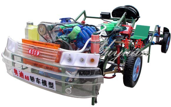 奥迪A6透明整车模型