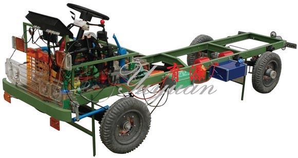 解放CA1141型透明整车模型