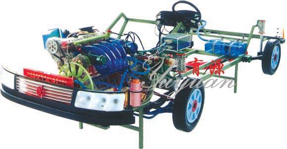 帕萨特透明整车模型