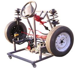 电控助力转向与前悬挂fun88体育备用台