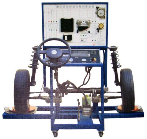 电控液压助力转向与前悬挂fun88体育备用台(LS400)