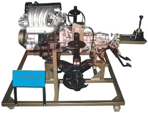 汽车传动系统拆装实验台