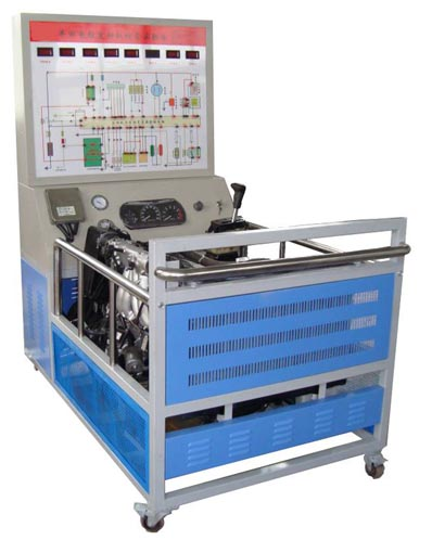 电压表实时显示传感器与执行器的变化,喷油器脉冲等各执行元器件用led