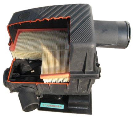 空气滤清器解剖模型