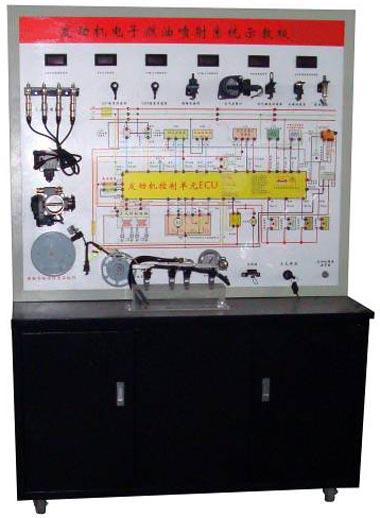 汽油车电子燃油喷射系统示教板(桑塔纳2000AJR)