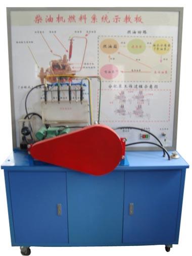 柴油机燃料系统示教板