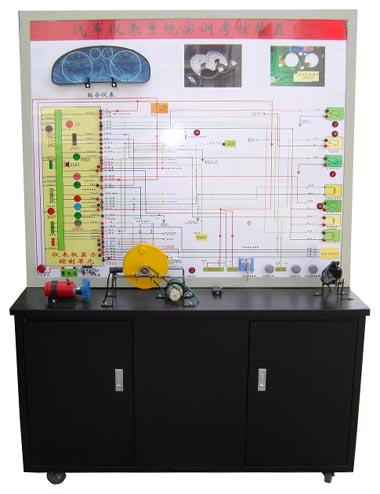 汽车仪表防盗系统示教板