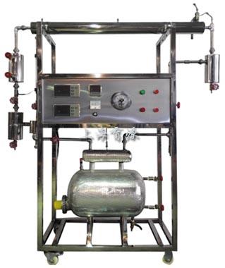 蒸汽冷凝时传热和给热系数测试装置