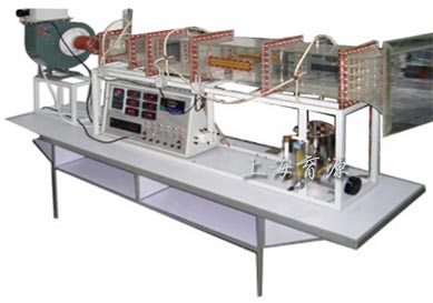 强迫对流空气横掠平板放热系数测试装置