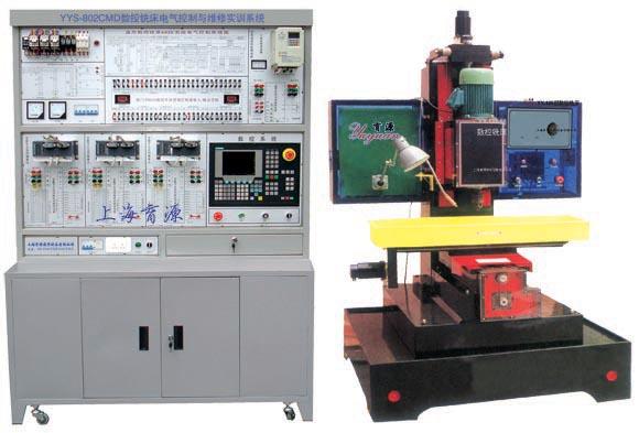 数控铣床电气控制与维修fun88体育备用系统(实物/西门子)