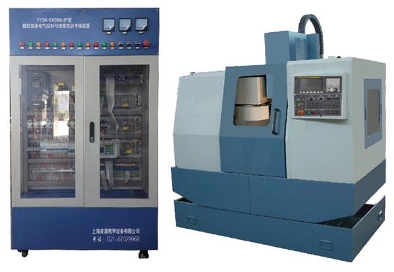 数控铣床电气控制与维修fun88体育备用考核装置