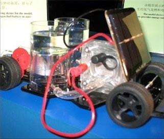 燃料电池汽模型车