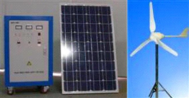 风光互补发电供电系统