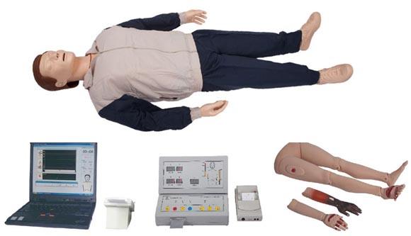 高级自动电脑心肺复苏模拟人(IC卡管理软件)